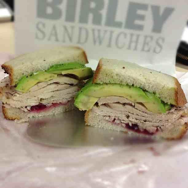 December 2012 club sandwich for Club sandwich fillings for high tea